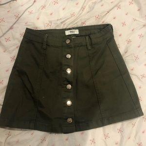 Forever 21 green skirt